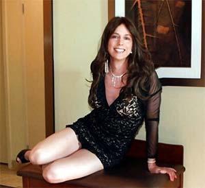 Aurélie 39 ans travestie pour soirées chic à Vénissieux